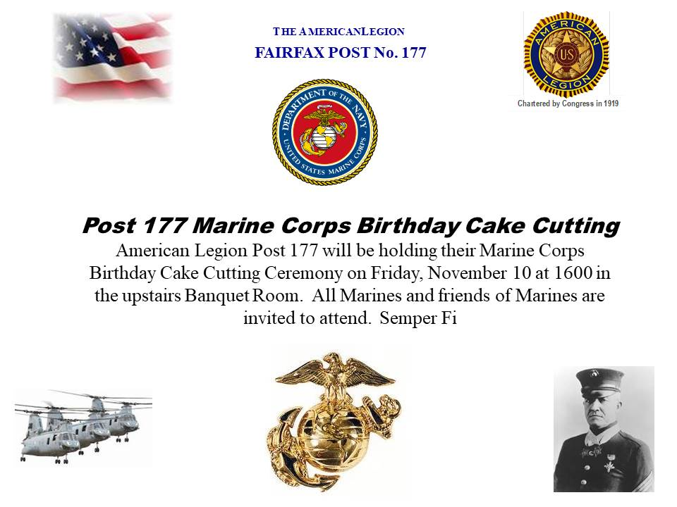 Video Of The Cutting Of The Marine Corp Birthday Cake